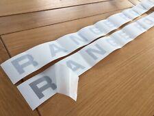 RANGE ROVER CLASSIC 4 DOOR BONNET TAILGATE REPLACEMENT RESTORATION SILVER F+R