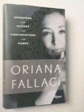 Oriana Fallaci ~ Interviews with History & Conversations with Power ~  2011