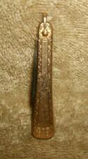Art Nouveau Gold Filled Hayward Knife Fob