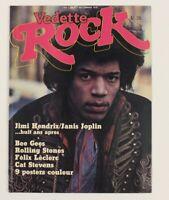 Vedette Classic Jimi Hendrix Janis Joplin VTG 70s 1978 Spanish Rock Magazine