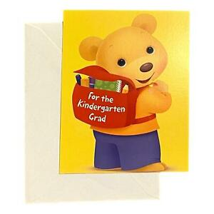 Graduation Greeting Card for Child - for the kindergarten grad - Kindergarten Gr