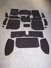 MG MIDGET 61-79  BLACK LOOP CARPET KIT WITH 20 OUNCE PADDING