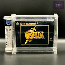 ZELDA Ocarina Of Time | N64 | New Factory Sealed | Wata 8.0 A+ | Nintendo | 1998