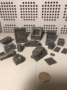 Mantic Terrain Crate Abandoned Factory 28mm Scenery
