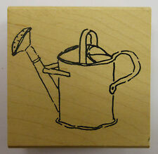 Watering Can Rubber Stamp PW
