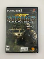 SOCOM 3: U.S. Navy SEALs - Playstation 2 PS2 Game - Complete & Tested