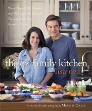 The Dr Oz Family Kitchen by Lisa Oz Cook Book Hardcover Healthy Recipes Cookbook