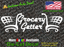 Grocery Getter Decal Vehicle Window Sticker 2530