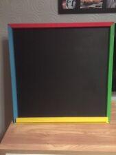 Garden Chalkboard.... Square 60x60cm With Chalk Holder... Children's Toys Outdoo