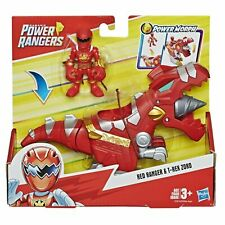 Hasbro Playskool Heroes Power Rangers Power Morph Red Ranger & T-Rex Zord