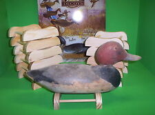 12- Wooden Decoy Stands/ Mason/ Pratt/ Collectable Decoys