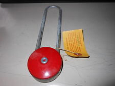 NOS NEW Vintage Antique Gougler Lock Company Keyless Combination Lock 1947 Red