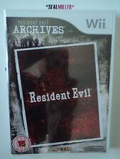 RESIDENT EVIL  * Wii *  ¡NUEVO, PRECINTADO!