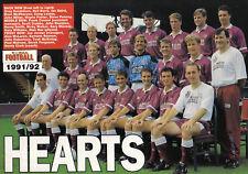 HEARTS FOOTBALL TEAM PHOTO>1991-92 SEASON