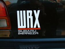 Wrx Subaru Impreza Decal Sticker
