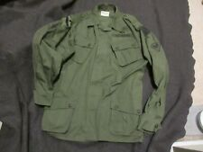 REPRODUCTION US ARMY VIETNAM 1ST PATTERN JUNGLE SHIRT EXPOSED BUTTONS X-LARGE RE