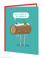 BrainBox CANDY Navidad Tarjetas Regalo Divertido Humor Broma Peculiar Yule