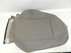 New OEM 2000-2001 Audi A4 S4 Front Left Seat Backrest Cover Mussel Gray Cloth