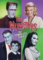 The Munsters: The Complete Series (12 Disc) DVD NEW