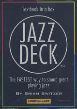 Jazz Deck Textbook in a Box Learn How to Solo & Unlock Jazz Improvisation Music