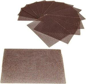 [40 Pack] Grill Cleaning Screens - Griddle Scraping Cleaner Mesh, Commercial Gra
