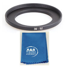 39-52MM Step Up Adapter Ring 39MM Lens to 52MM Accessory Leica FujiFilm 27mm