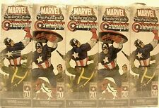 HeroClix sealed Brick ~ CAPTAIN AMERICA ~ Marvel 5 figure Booster pack x 10