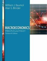 Macroeconomics : Principles and Policy 13/e Paperback by Baumol    81019