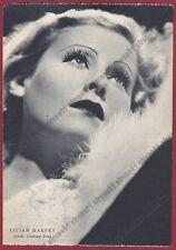 LILIAN HARVEY 21 ATTRICE ACTRESS SCHAUSPIELERIN CINEMA MOVIE Cartolina 1938