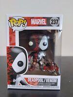 Marvel Funko Pop - Venomized Deadpool (Metallic) - No. 237