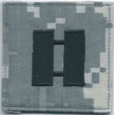 """2 """" x 2 """" Acu O-3 O3 Cpt Capitaine Rang Patch hook & loop tape Fermeture"""