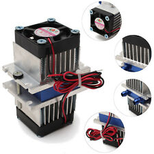 DIY Kits Thermoelectric Peltier Refrigeration Cooling System +Fan