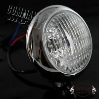 Retro Motorcycle Head Light For Harley Davidson Cafe Racer Bobber Chopper Custom
