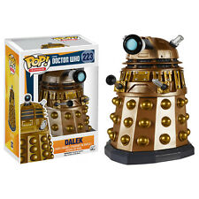 Doctor Who Bronze Dalek 9.5cm Vinylfigur Pop Funko BRANDNEU