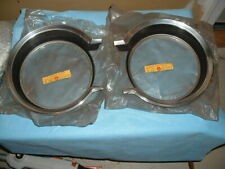 NOS 65 1965 AMC RAMBLER AMERICAN PR HEADLAMP BEZELS DOORS # 3523402 also Fit 64
