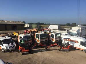 GRAB HIRE DIGGER HIRE GROUNDWORKS DRIVEWAYS DRAINAGE