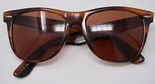 Vintage B&L Ray Ban Wayfarer II Brown Tortoiseshell Sunglasses L1725 52mm