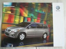VW Routan range brochure 2010 USA market