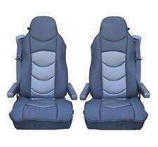 2x gris coussin siège pour camion Housse de économiseur SCANIA R 620 580 560 440