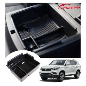 LFOTPP Car Center Console Storage Box Organizer Tray For 2021 SsangYong Musso