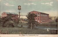 Postcard Rex Buggy Company in Connersville, Indiana~126544