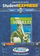 Prentice Hall World History Modern StudentExpress PC MAC CD textbook worksheets!