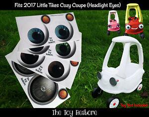 The Toy Restore Ricambio Adesivi Per Little Tikes 2017 Auto Fai da Te Su Occhi B