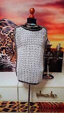 SEE by CHLOE GR.38-40   Damen Pullunder Pullover grau - Womens sweater