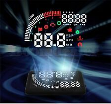 "ECHOMAN EM05 5.5"" LED Dual OBD II 2 HUD Head-Up Display Car Speed Warning System"