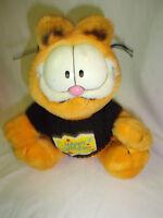"CTI Industries Paws Happy Birthday 8"" Garfield Plush Soft Toy Stuffed Animal"