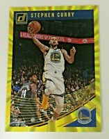 2018-19 Panini Donruss Holo Yellow Laser 21/25 Stephen Curry #2 Golden State