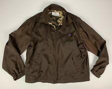 Valentino Sport Made in Italy Full Zip WIndbreaker Jacket sz L EU 50 Brown