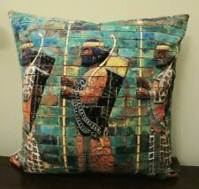 RARE Persian Persepolis Soldiers Historic Art Sonnati Cushion Cover Pillow Case