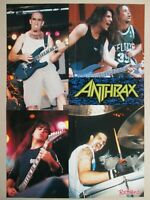 "ANTHRAX "" Live "" poster 22x16in (57x40cm)"